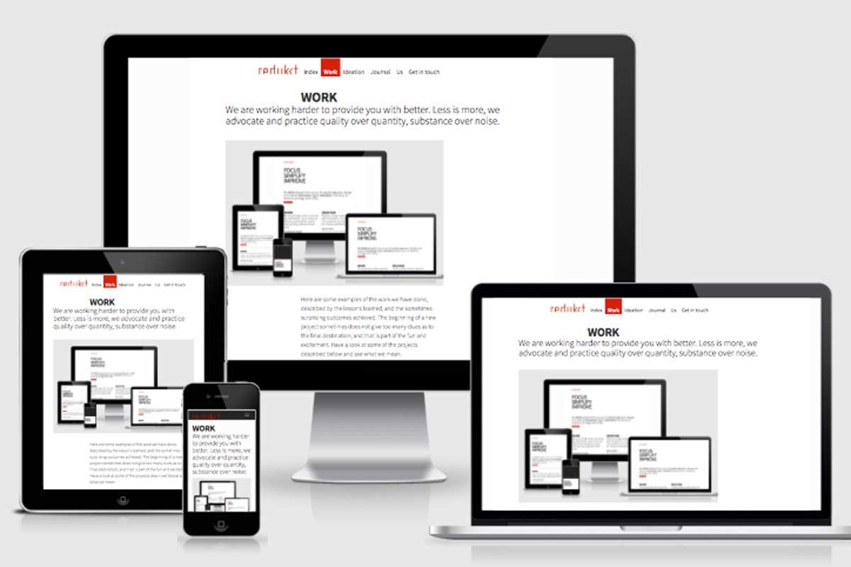 Le responsive design pour votre site internet