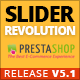 module revolution slider prestashop