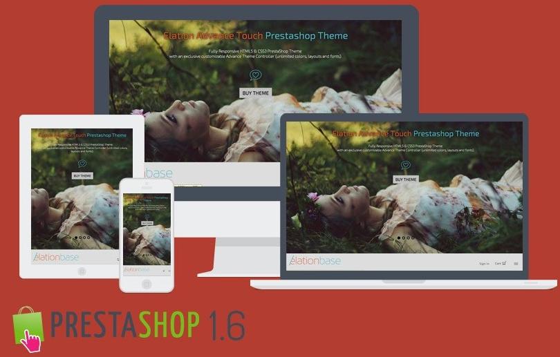 Un thème PrestaShop responsive Touch