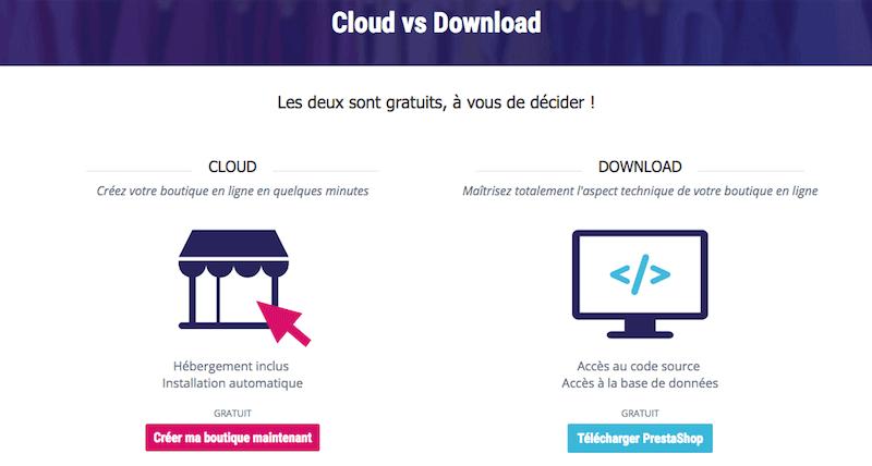 creer-site-ecommerce-prestashop-cloud-vs-installation