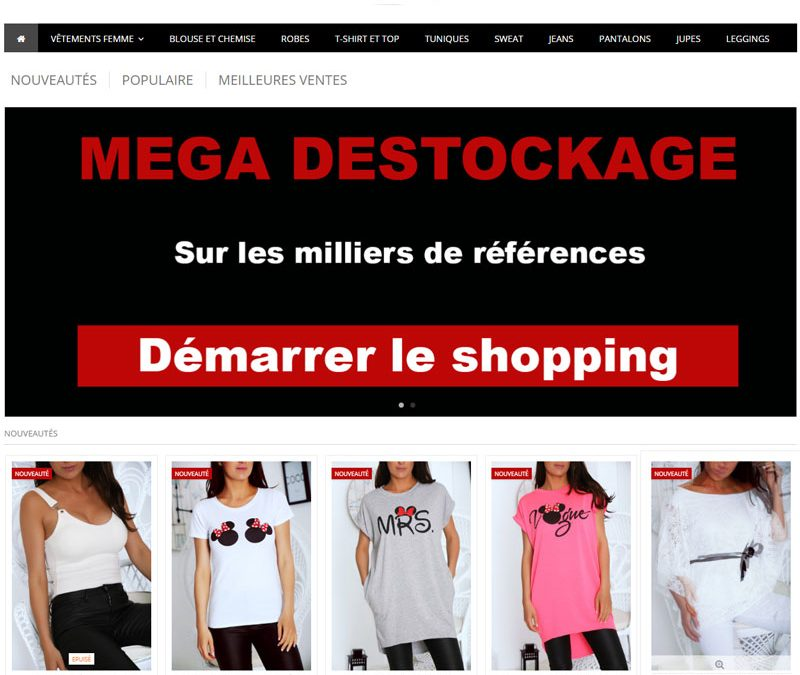 PrestaShop le grand Destockage