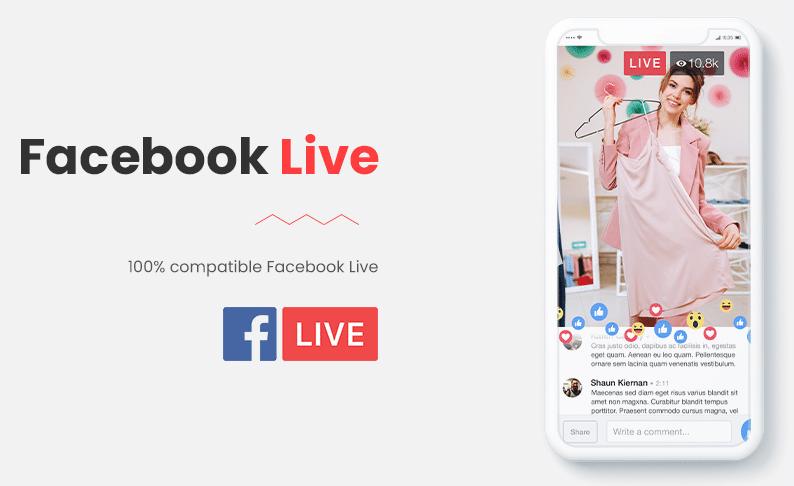 facebook shopping live