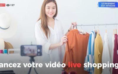Lancez votre première Vidéo Live Shopping