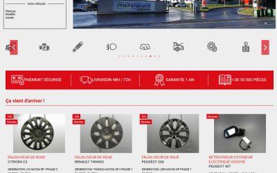 Multi-boutique pièces détachées automobiles