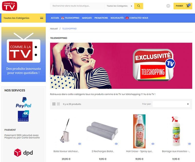 PrestaShop et le Leader du télé-shopping en ligne